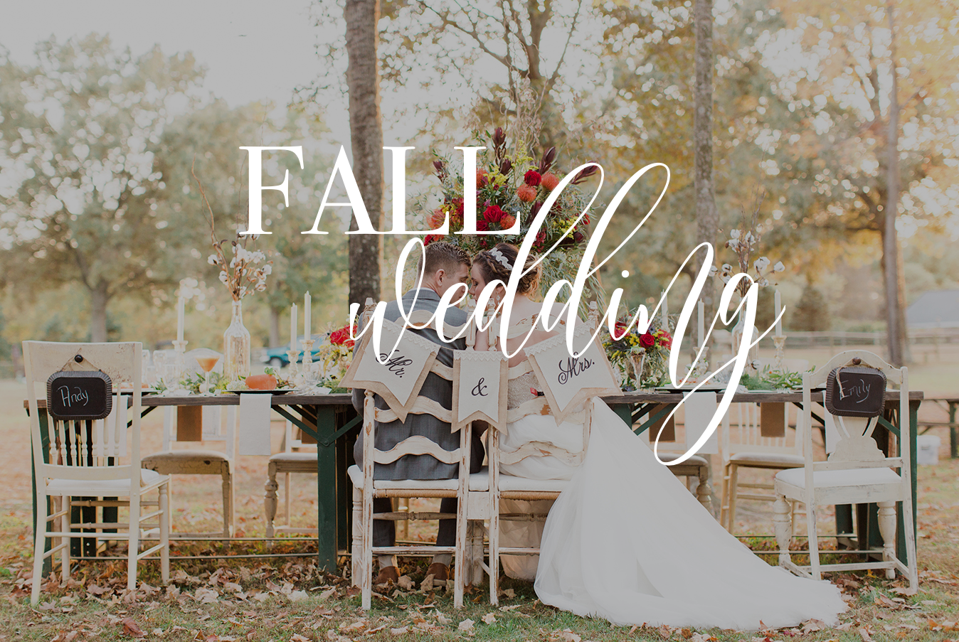 FALL WEDDING for OBJ
